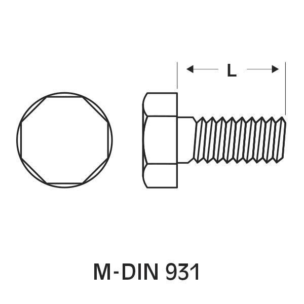 M-DIN 933 / 931